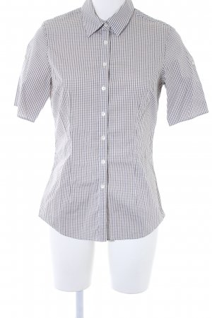 Tommy Hilfiger Short Sleeve Shirt green grey-white Vichy check pattern