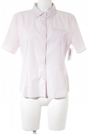 Tommy Hilfiger Short Sleeve Shirt light pink-white check pattern casual look
