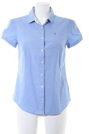 Tommy Hilfiger Shirt met korte mouwen azuur elegant