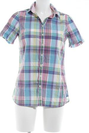 Tommy Hilfiger Shirt met korte mouwen geruite print casual uitstraling