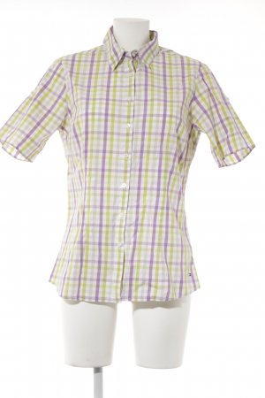 Tommy Hilfiger Short Sleeve Shirt check pattern athletic style