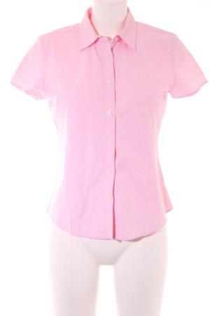 Tommy Hilfiger Shirt met korte mouwen roze casual uitstraling