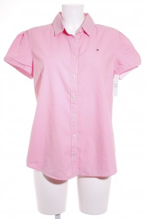 Tommy Hilfiger Short Sleeve Shirt pink classic style