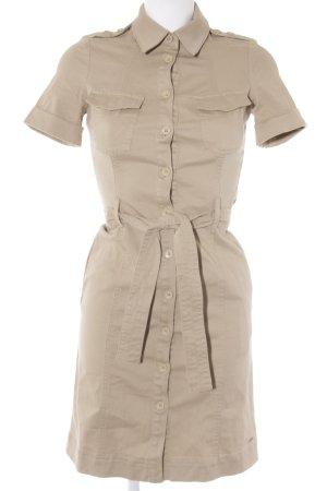 Tommy Hilfiger Kurzarmkleid beige Casual-Look