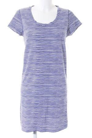 Tommy Hilfiger Kurzarmkleid blau-weiß Streifenmuster Casual-Look