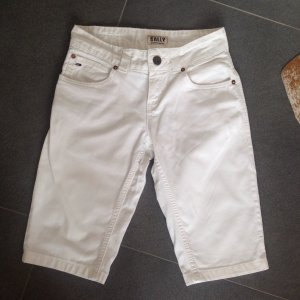 Tommy Hilfiger Kurze Hose 3/4 weiß Jeans Gr S 36