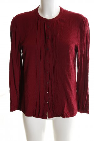 Tommy Hilfiger Langarm-Bluse rot Casual-Look