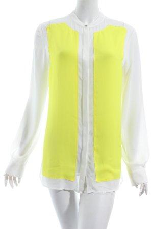 Tommy Hilfiger Langarm-Bluse blassgelb-wollweiß Street-Fashion-Look