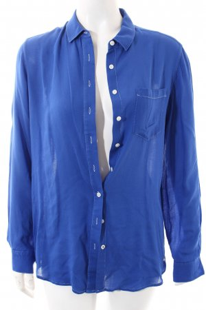 Tommy Hilfiger Langarm-Bluse blau Elegant