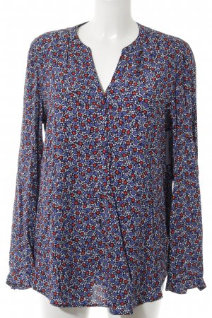 Tommy Hilfiger Langarm-Bluse Blumenmuster Casual-Look
