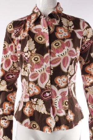 Tommy Hilfiger Langarm-Bluse braun rosa