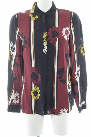Tommy Hilfiger Langarm-Bluse florales Muster Casual-Look