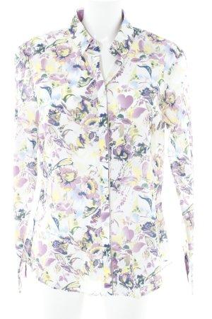Tommy Hilfiger Langarm-Bluse florales Muster Vintage-Look