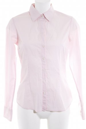 Tommy Hilfiger Langarm-Bluse hellrosa Business-Look