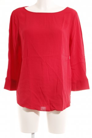 Tommy Hilfiger Langarm-Bluse hellrot Casual-Look