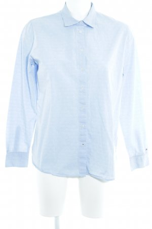 Tommy Hilfiger Langarm-Bluse himmelblau Casual-Look