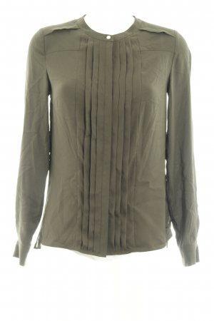 Tommy Hilfiger Langarm-Bluse khaki Casual-Look