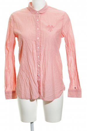 Tommy Hilfiger Langarm-Bluse lachs Beach-Look