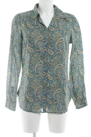 Tommy Hilfiger Langarm-Bluse Paisleymuster Vintage-Look