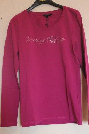 Tommy Hilfiger Langarm Shirt magenta Gr.M