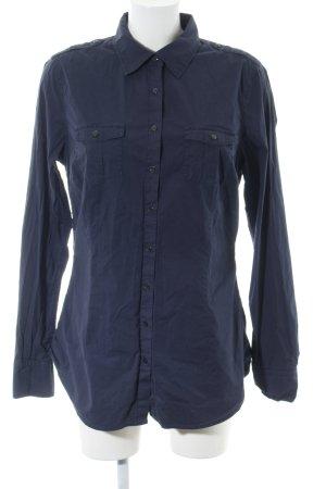 Tommy Hilfiger Langarmhemd blau Casual-Look