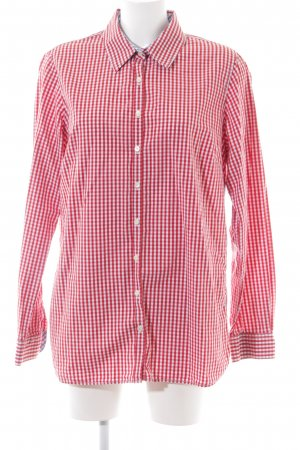 Tommy Hilfiger Camicia a maniche lunghe rosso-bianco stampa integrale