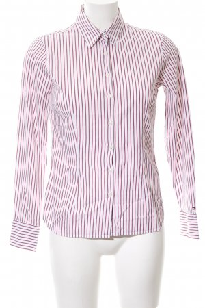 Tommy Hilfiger Langarmhemd rot-weiß Streifenmuster Casual-Look
