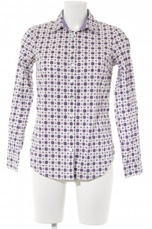 Tommy Hilfiger Langarmhemd abstraktes Muster Business-Look