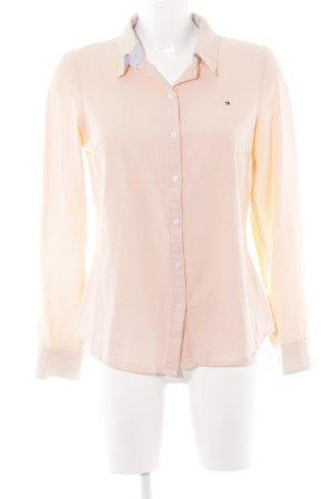 Tommy Hilfiger Chemise à manches longues abricot style décontracté