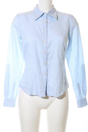 Tommy Hilfiger Camisa de manga larga azul estilo «business»