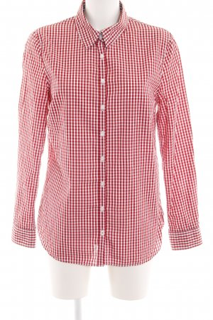 Tommy Hilfiger Langarmhemd rot Allover-Druck Casual-Look