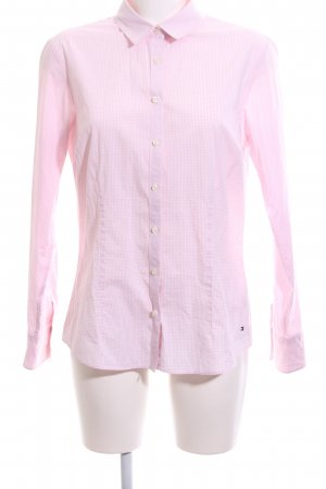 Tommy Hilfiger Langarmhemd pink Allover-Druck Business-Look