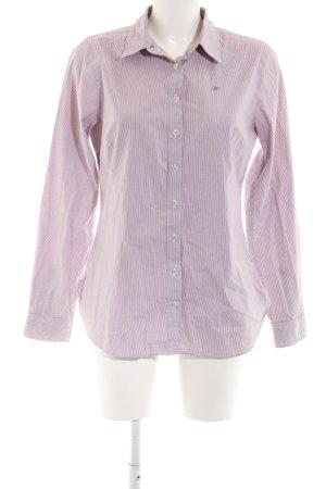 Tommy Hilfiger Langarmhemd pink Streifenmuster Business-Look