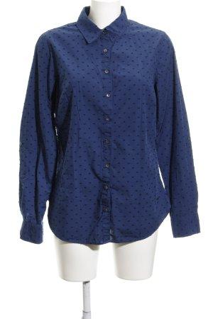 Tommy Hilfiger Langarmhemd dunkelblau