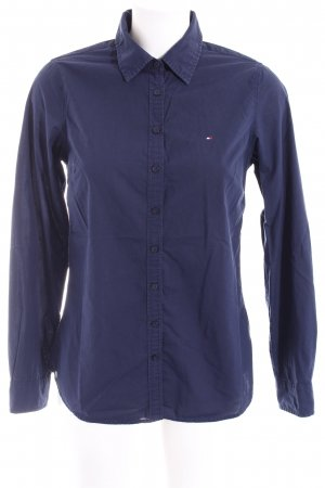 Tommy Hilfiger Langarmhemd dunkelblau Business-Look