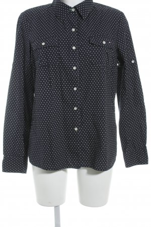 Tommy Hilfiger Long Sleeve Shirt dark blue-natural white paisley pattern