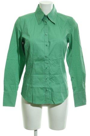 Tommy Hilfiger Camisa de manga larga verde elegante