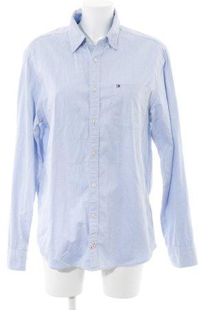 Tommy Hilfiger Shirt met lange mouwen lichtblauw casual uitstraling