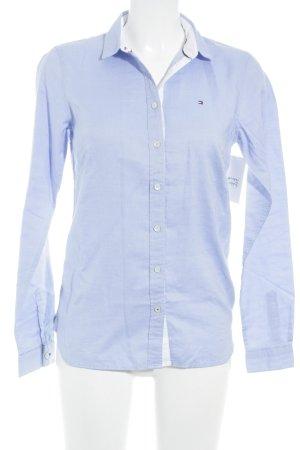 Tommy Hilfiger Chemise à manches longues bleu clair élégant