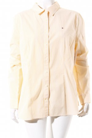 Tommy Hilfiger Long Sleeve Shirt light orange-pale yellow casual look