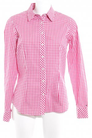 Tommy Hilfiger Camisa de manga larga rojo claro-blanco estampado a cuadros