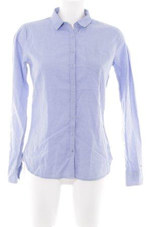 Tommy Hilfiger Langarmhemd himmelblau Casual-Look