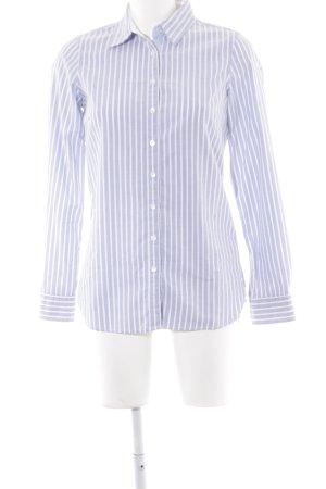 Tommy Hilfiger Chemise à manches longues bleu azur-blanc motif rayé