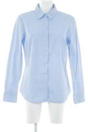 Tommy Hilfiger Langarmhemd himmelblau-weiß Streifenmuster Casual-Look