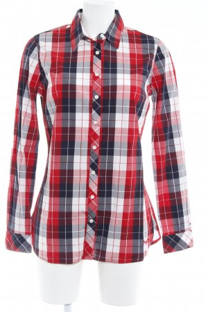 Tommy Hilfiger Shirt met lange mouwen geruite print casual uitstraling
