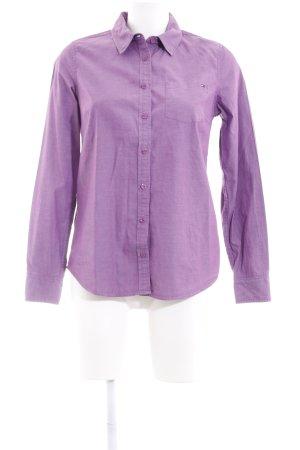 Tommy Hilfiger Shirt met lange mouwen lila casual uitstraling