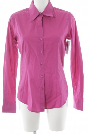 Tommy Hilfiger Langarmhemd magenta Business-Look