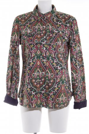 Tommy Hilfiger Langarmhemd Paisleymuster Casual-Look