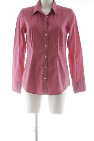 Tommy Hilfiger Chemise à manches longues rose style décontracté