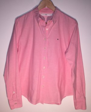 Tommy Hilfiger Long Sleeve Shirt pink cotton